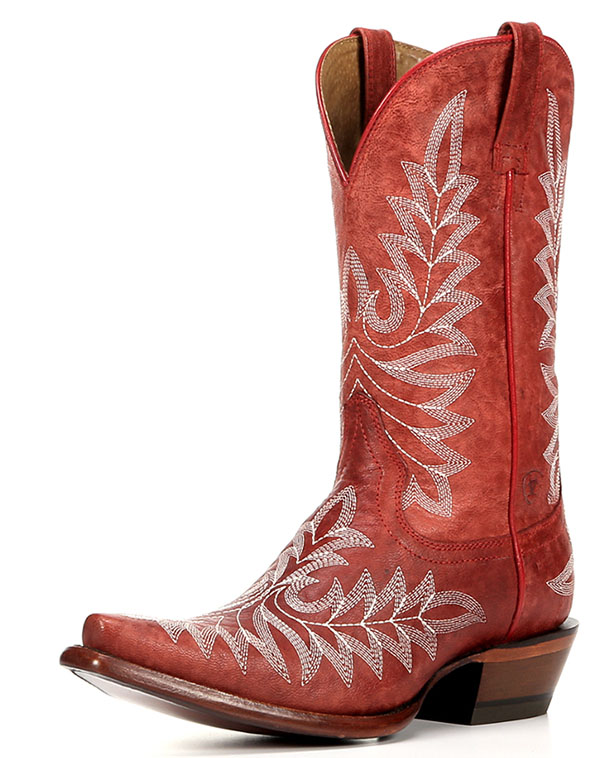 Ariat Brooklyn Boot in Revel Red