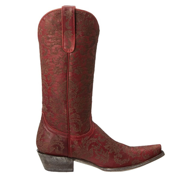 Old Gringo Nadia Boots in red