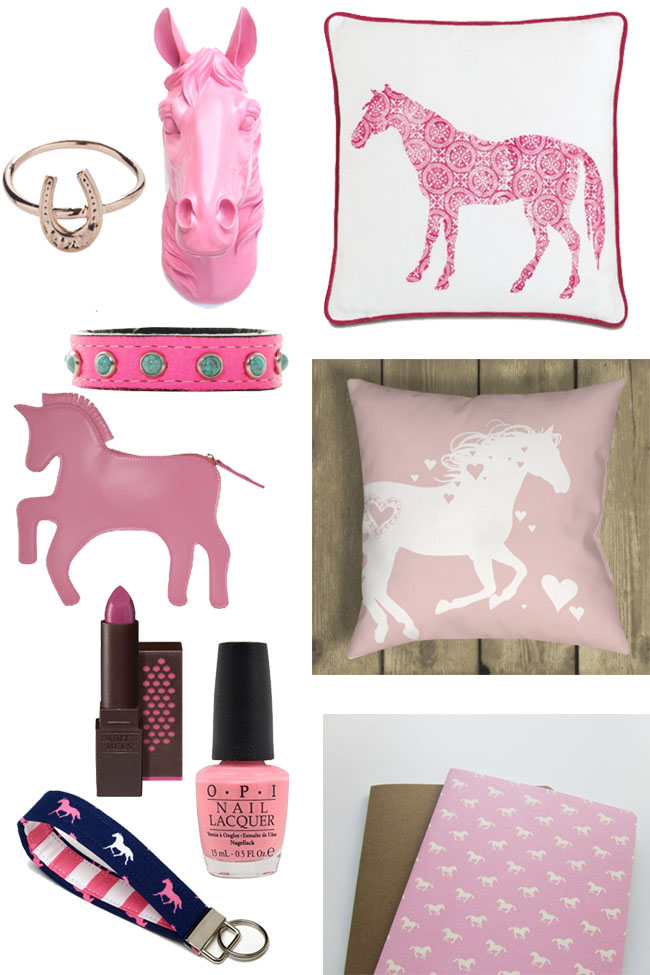 Pink Valentine's Day gift ideas for the horse lover