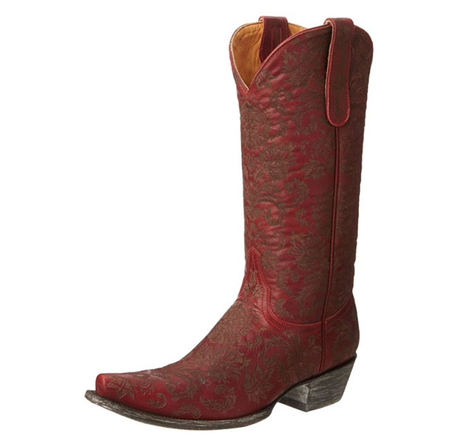 Ravishing red Nadia Old Gringo Boots
