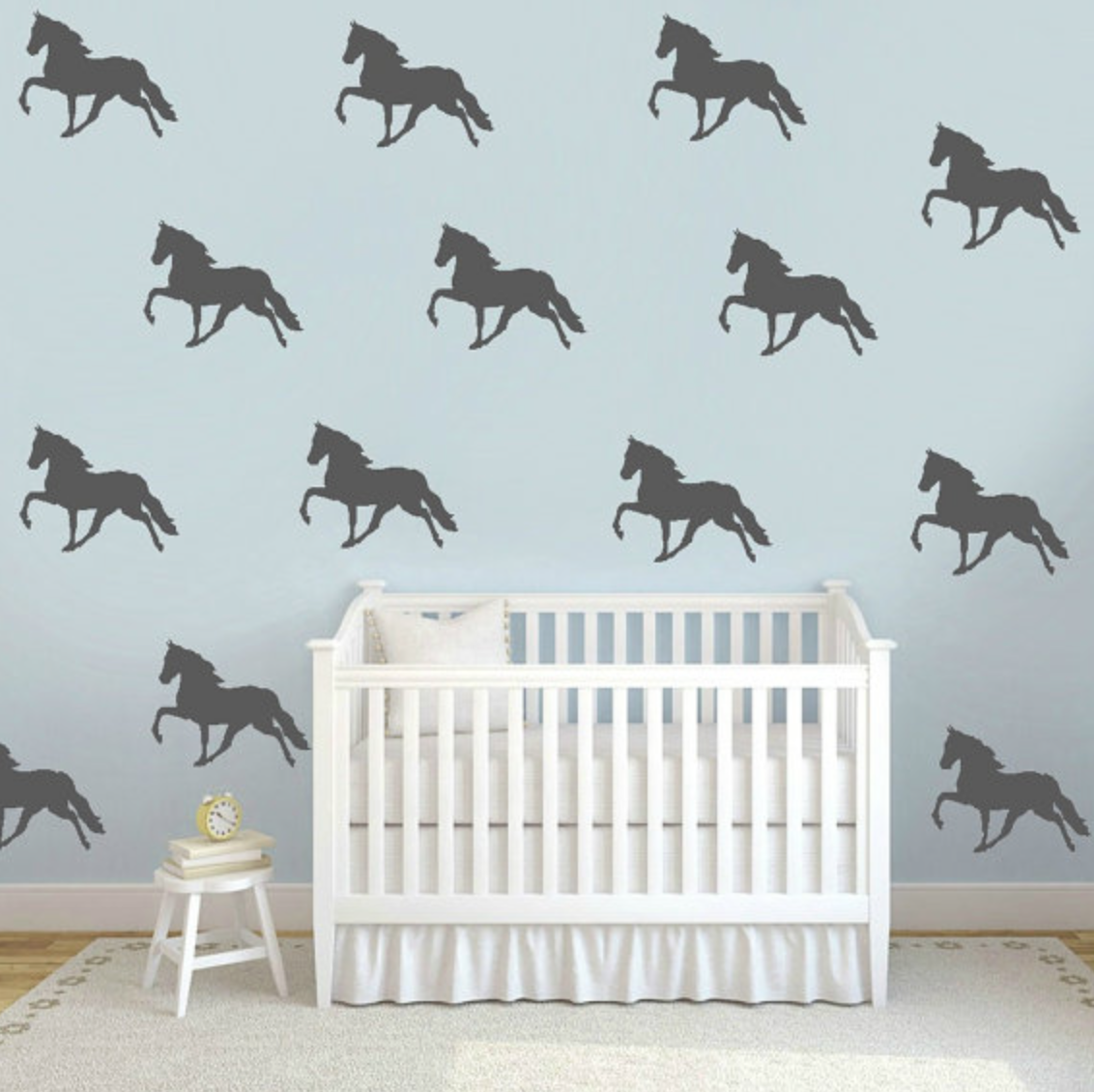 Ways To Dress Up Your Walls With Vinyl Decals Horses Heels - Wall decals horses