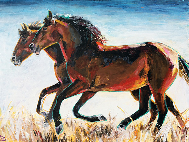 Summer Trot by Alana Clumeck