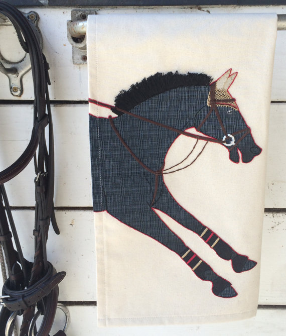 The Artful Equine Tea Towel