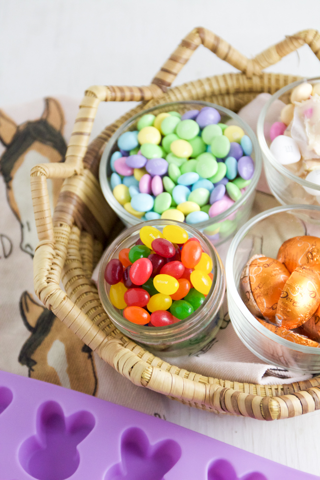 A delicious and sweet Easter basket