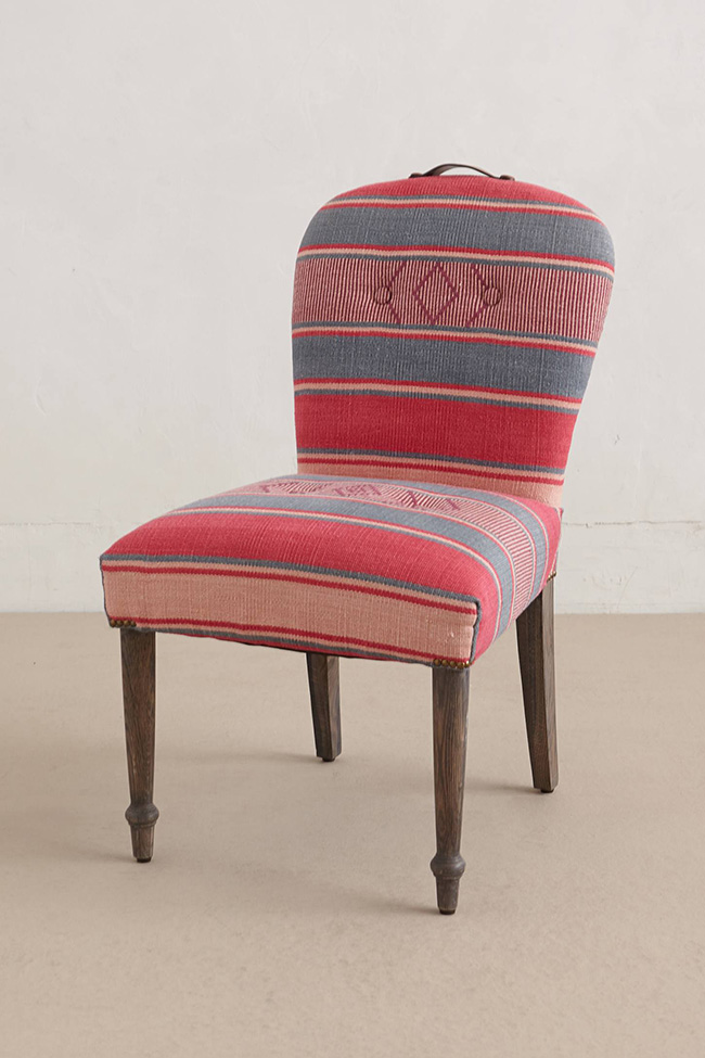 Anthropologie Folkthread dining chair