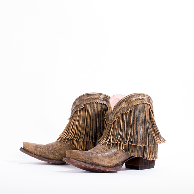 Junk Gypsy Spitfire boots in brown