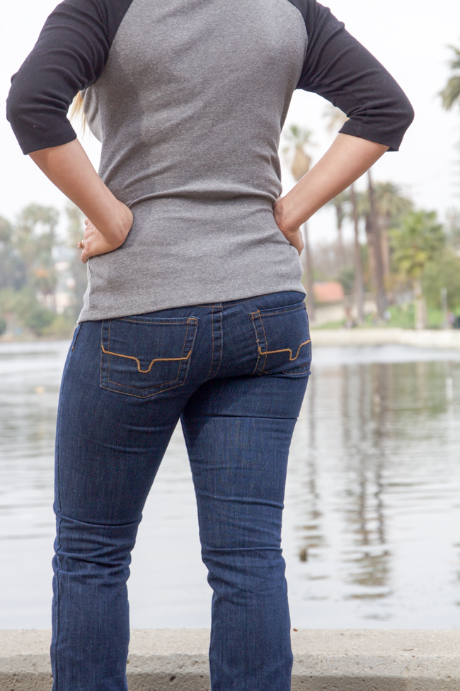 Kimes denim are wearable riding jeans