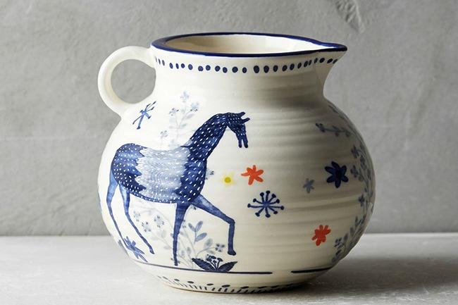 Horse Print Saga Kitchen Collection