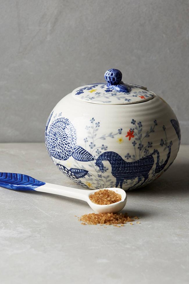 Saga horse sugar bowl