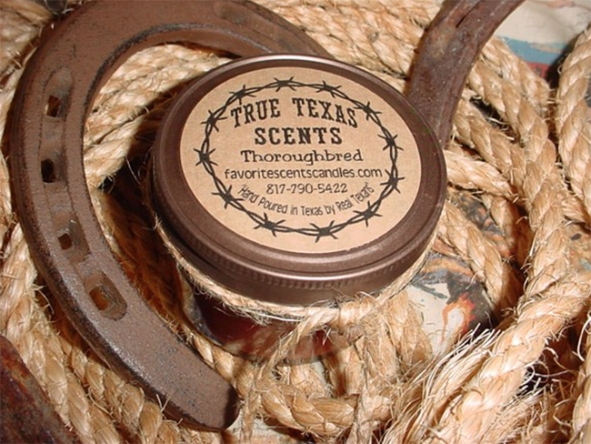 True Texas Scents candles