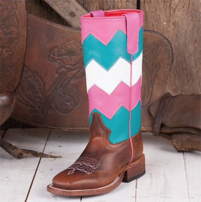8ee9a3d6d1a 3 Colorful Pairs of Kid's Cowboy Boots | Horses & Heels