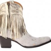 Metallic gold Old Gringo Mechados boots