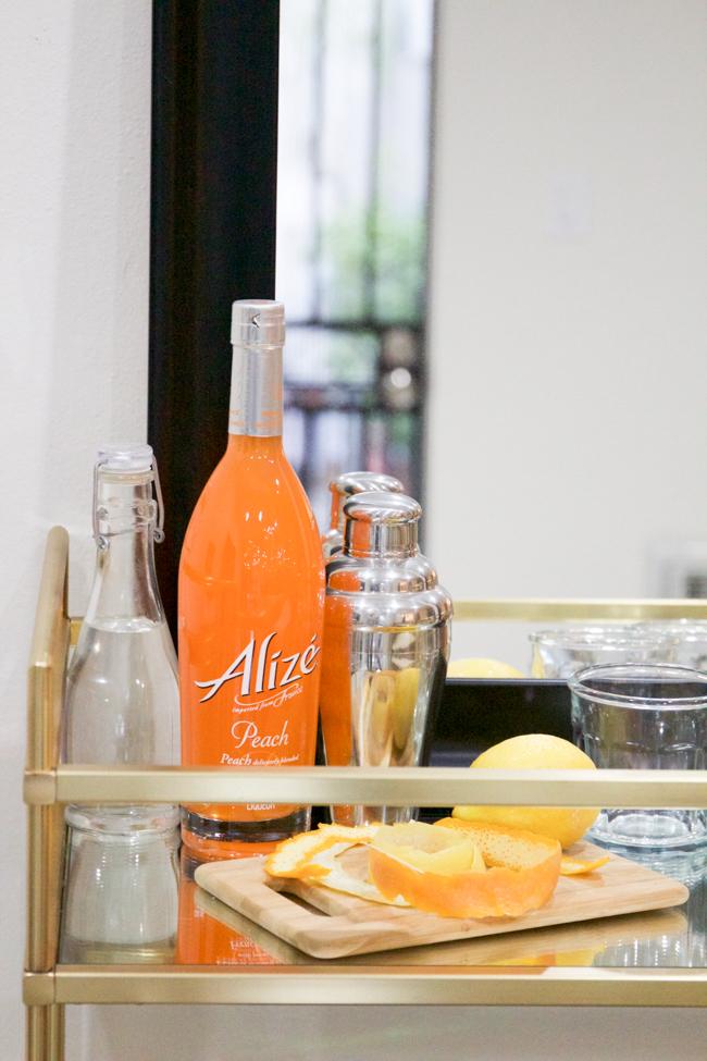 Alizé Peach for making cocktails