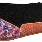 Custom leather tooled Best Ever pad