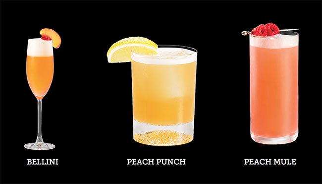 Delicious cocktail recipes to try with Alizé Peach