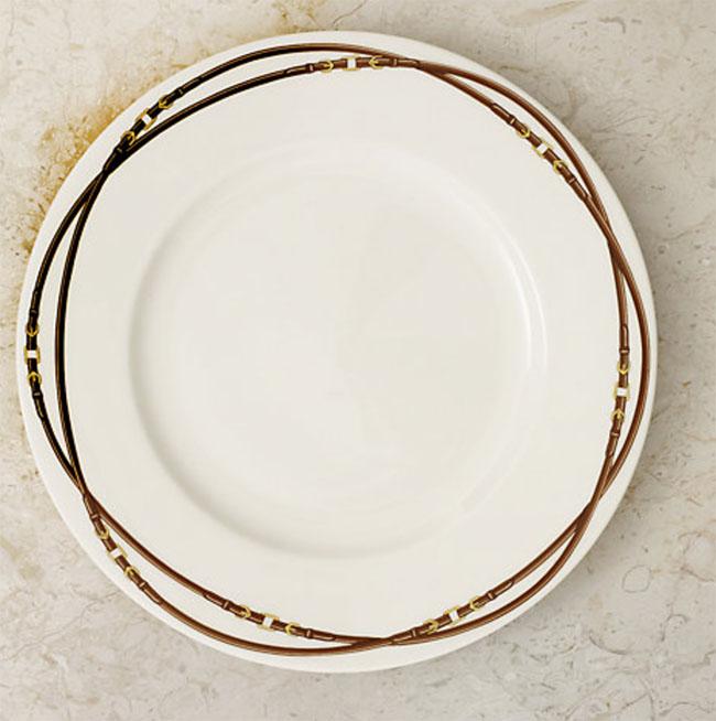 Equestrian plates, Ralph Lauren Bromley dinner plate