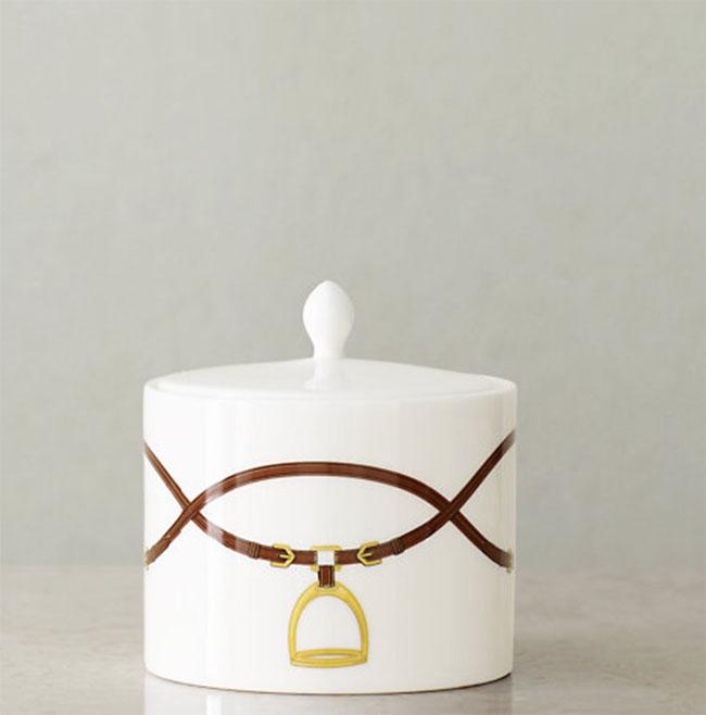 Ralph Lauren Bromley Sugar Bowl, equestrian style
