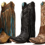 Three pairs of fringe corral boots you need to have right now