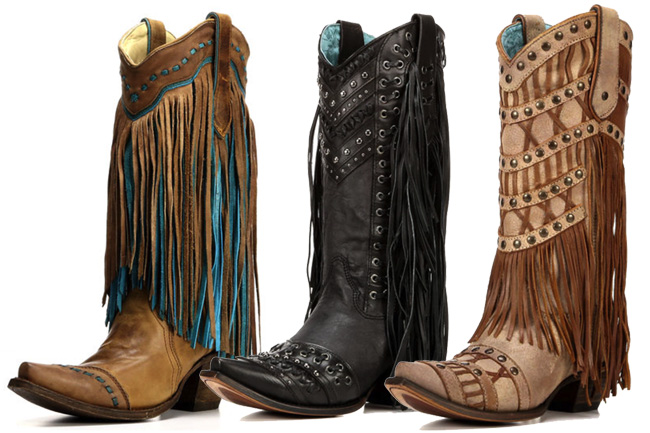 3 Pairs of Corral Fringe Boots You Need