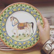 World Market Voyage Horse Plates