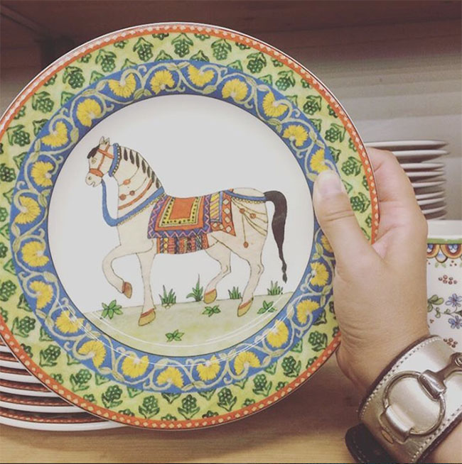 World Market Voyage Horse Plates : world dinnerware - pezcame.com