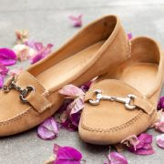 Carrie horse bit loafers