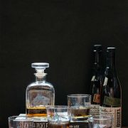 Equestrian barware for the home