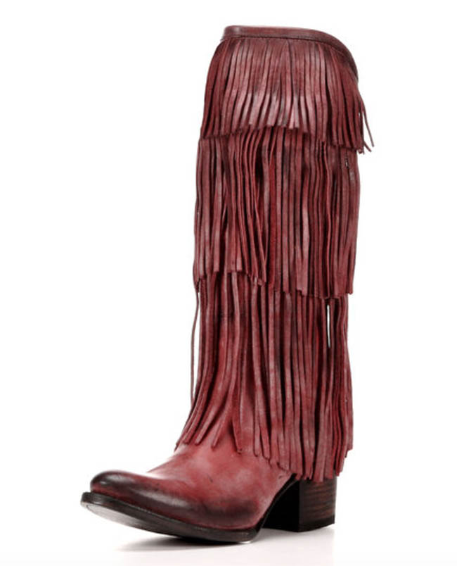 Freebird by Steven Ranger fringe boot
