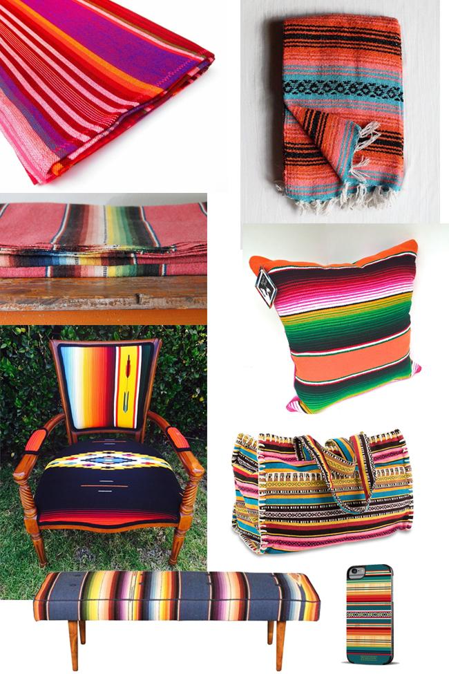 Serape love - Southwest accessories