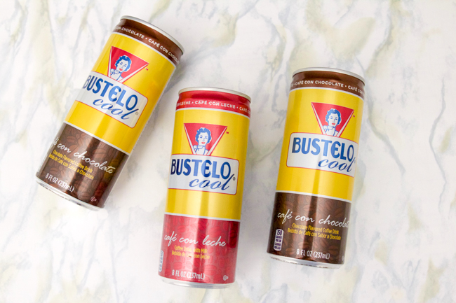 Bustelo Cool flavored coffee drinks
