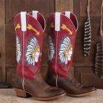 Macie Bean Indian Head Boots
