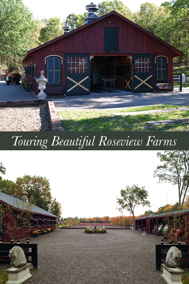 Touring Roseview Stables