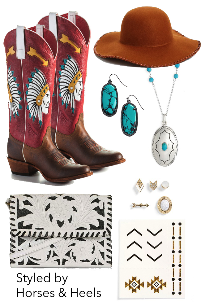 Western style and accessories