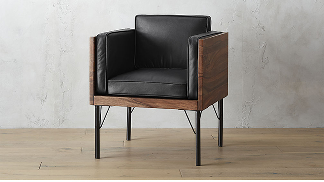 Bower Leather Chair