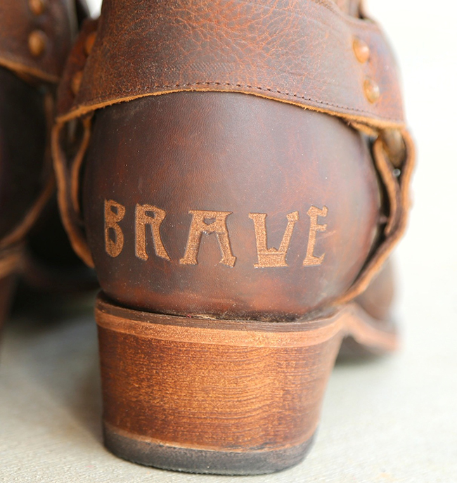 Brave, love these Junk Gypsy Boots