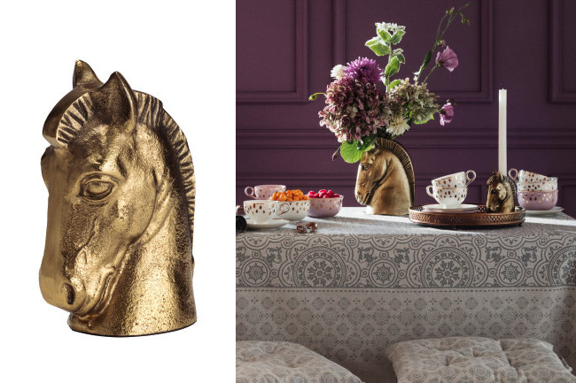 H&M horse accessories for the home