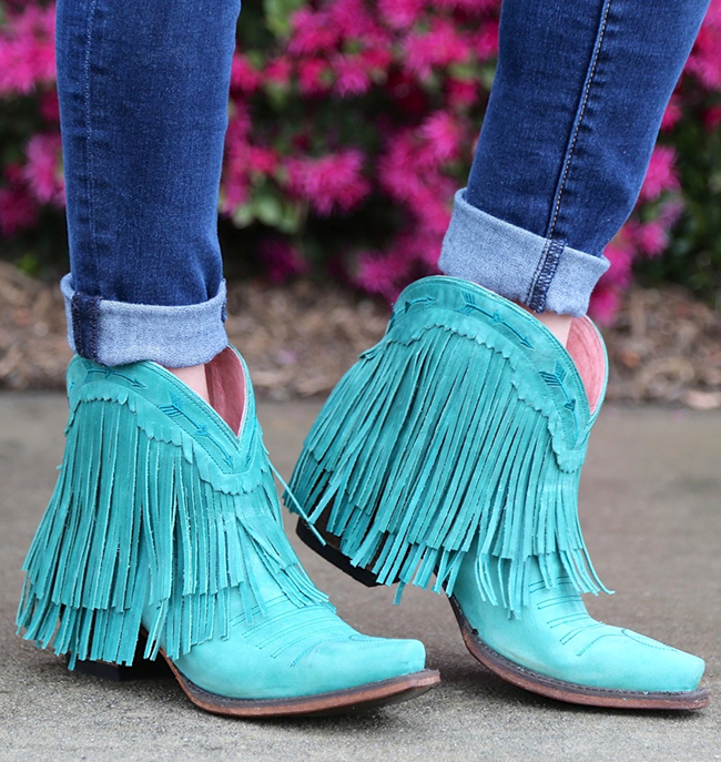 Junk Gypsy Spitfire Turquoise Boots