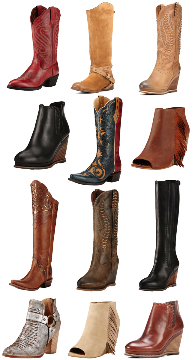 12 Pairs of Ariat Boots You Need for Fall
