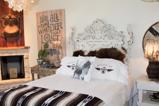 stunning bedroom for guests