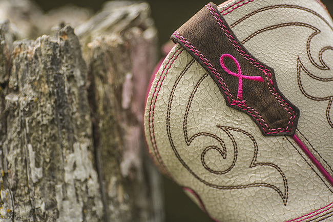 PFIs BootDaddy Collection with Ariat Pink Ribbon Power Ranchbaby Cowboy Boots