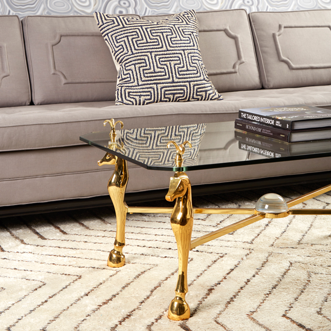 cheval coffee table