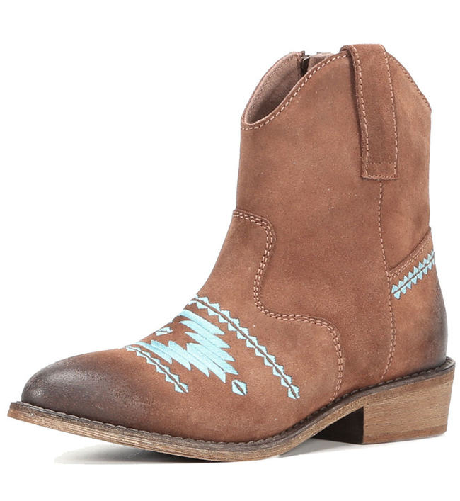 Musse & Cloud booties in brown