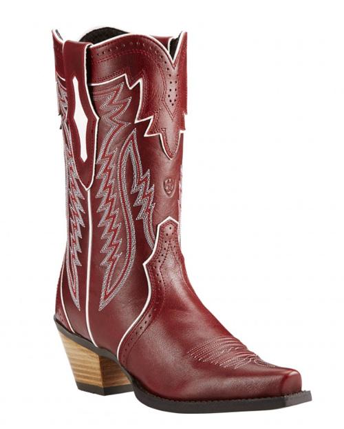 Ariat snip toe cowboy boots