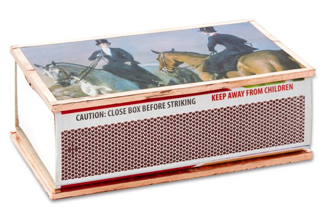 equestrian match box