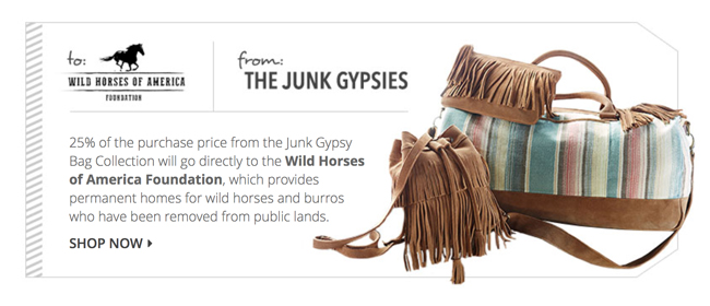 Junk Gypsies give back