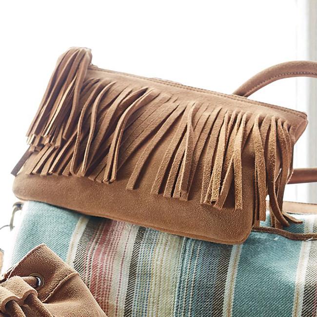 Junk Gypsy fringe pouch