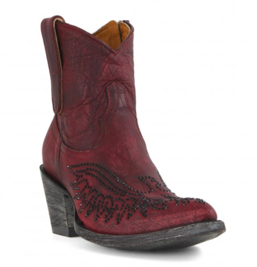 Old Gringo Swarovski crystal ankle boots