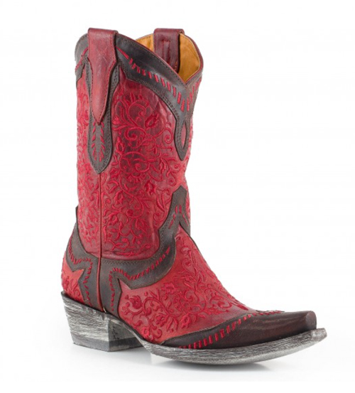Horses & Heels | 12 Pairs of Red Cowboy Boots