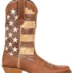 Durango's Distressed Flag Boots