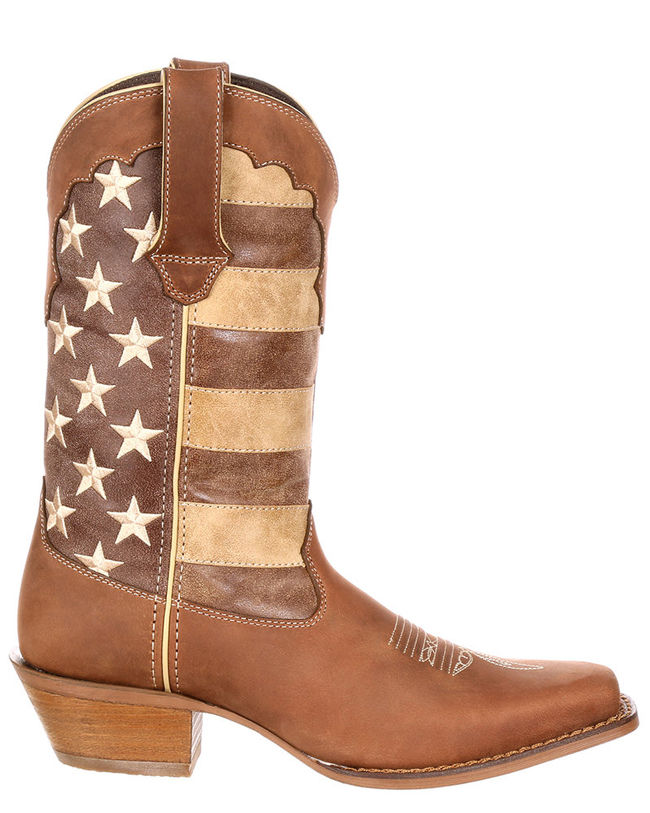 Durango's Distressed Flag Boots